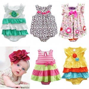 Newborn-Baby-Rompers-Dress-Summer-Cotton-Carters-Baby-Girl-Jumpsuits-Clothing-Sleeveless-Baby-Overalls-Body-For