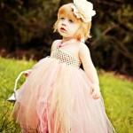 لباس عروس بچه گانه-  لباس عروس دخترانه